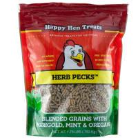 HAPPY HEN TREATS 698983 HERB PECKS CHICKEN TREAT 28 OZ