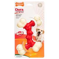 NYLABONE 491645 DURA CHEW BACON FLAVORED DOG BONE SMALL