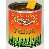 GENERAL FINISHES PT.YELLOW DYE STAIN WATER BASED YELLOW PINT