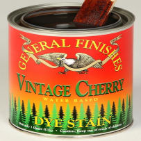 GENERAL FINISHES PT.VINT.CHERRY DYE STAIN WATER BASED VINTAGE CHERRY PINT