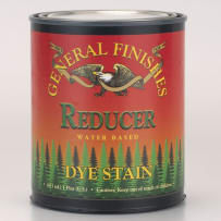GENERAL FINISHES PT.REDUCER DYE STAIN WATER BASED REDUCER PINT