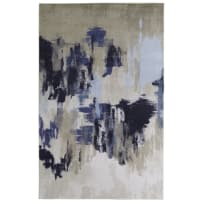 MOHAWK RUGS Z0010-A405 5X8 PRISMATIC SALOME RUG 5X8 NAVY