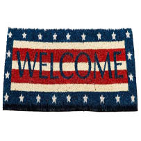 EVERGREEN 2RMS447 STARS AND STRIPES COIR SWITCH MAT