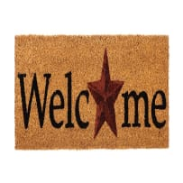 EVERGREEN 2RMS459 COUNTRY STAR COIR SWITCH MAT