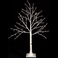 RAZ IMPORTS 3800936 LIGHTED BIRCH TREE 3.5 FOOT