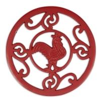 DESIGN IMPORTS 29449 RED ROOSTER TRIVET