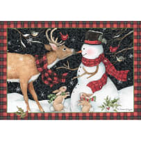 LANG 2004534 REINDEER KISSES PETITE CHRISTMAS CARDS
