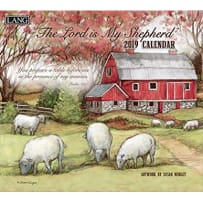 LANG 19991002000 LORD IS MY SHEPHERD 2019 CALENDAR