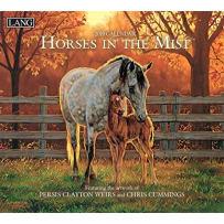 LANG 19991001917 HORSES IN THE MIST 2019 CALENDAR