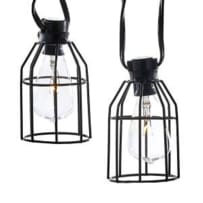 KURT ADLER UL4321 IRON CAGE LIGHT SET