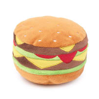 FUZZYARD FZ546 HAMBURGER PLUSH DOG TOY