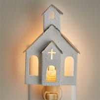 PARK DESIGNS 25-061 CHURCH NIGHT LIGHT
