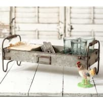 COLONIAL TIN WORKS 770008 DIVIDED TRAY WITH STAND