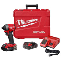 MILWAUKEE 2853-22CT M18 FUEL 1/4 INCH HEX IMPACT DRIVER KIT
