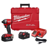MILWAUKEE 2853-22 M18 FUEL 1/4 INCH HEX IMPACT DRIVER KIT