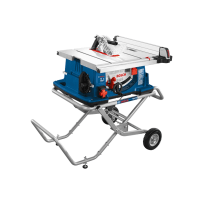 BOSCH 4100-10 10 INCH WORKSITE TABLE SAW WITH GRAVITY-RISE WHEELED STAND