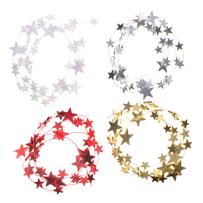 DARICE 30061441 MINI STAR GARLAND 4 FEET ASSORTED COLORS