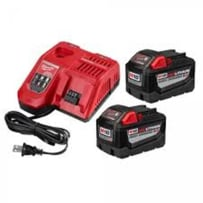 MILWAUKEE 48-59-1890P M18 REDLITHIUM HIGH DEMAND 9.0 STARTER KIT