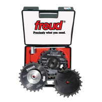 FREUD SD608 8 INCH DIAL-A-WIDTH STACKED DADO SETS