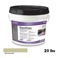 TEC Tecnicolor Ready-To-Use Commercial Grade Grout 20 Lb Antique White