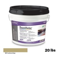 TEC Tecnicolor Ready-To-Use Commercial Grade Grout 20 Lb Sandstone Beige