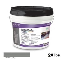 TEC Tecnicolor Ready-To-Use Commercial Grade Grout 20 Lb Delorean Grey