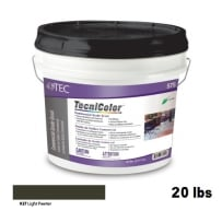 TEC Tecnicolor Ready-To-Use Commercial Grade Grout 20 Lb Light Pewter