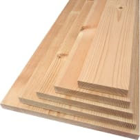 PARKSITE 1X8X12WP Interfor 1x8 12-ft Reserve Pine #2&Btr S4S Micro EE KD