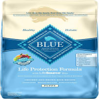 BLUE BUFFALO 596003 30 LB CHICKEN & BROWN RICE LIFE PROTECTION FORMULA DRY PUPPY FOOD