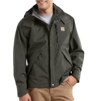 CARHARTT J162-307 2XL BLK SHORELINE JACKET