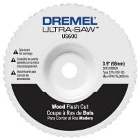 BOSCH US600-01 ULTRA SAW WOOD AND PLASTIC FLUSH CUT WHEEL