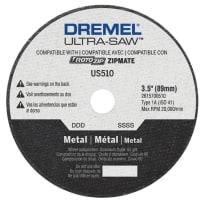 DREMEL US510-01 ULTRA SAW METAL CUTTING WHEEL 3-1/2 INCH