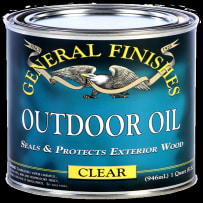 GENERAL FINISHES OUTDR-OIL QT OUTDOOR OIL CLEAR QUART