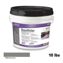 TEC Tecnicolor Ready-To-Use Commercial Grade Grout 10 Lb Delorean Gray