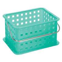 INTERDESIGN 61281 SMALL STORAGE BASKET FOR BATHROOM
