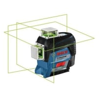BOSCH GLL3-330CG 360 DEGREE CONNECTED GREEN-BEAM THREE-PLANE LEVELING AND ALIGNMENT-LINE LAZER