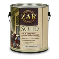 UNITED GILSONITE 81112 ZAR SOLID COLOR DECK & SIDING STAIN QT MEDIUM BASE