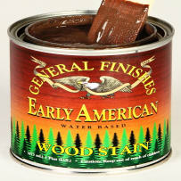 GENERAL FINISHES H20WSEAPT WOOD STAIN WATER-BASED EARLY AMERICAN PINT