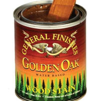 GENERAL FINISHES H2OWSGOPT WOOD STAIN WATER BASED GOLDEN OAK PINT