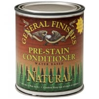 GENERAL FINISHES H2OWSNATPT PRE-STAIN CONDITIONER WATER BASED NATURAL PINT