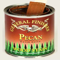 GENERAL FINISHES H2OWSPPT WOOD STAIN WATER BASED PECAN PINT