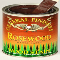 GENERAL FINISHES H2OWSROSEPT WOOD STAIN WATER BASED ROSEWOOD PINT