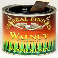 GENERAL FINISHES H2OWALNTPT WOOD STAIN WATER BASED WALNUT PINT
