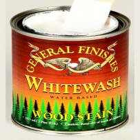 GENERAL FINISHES H2OWWPT WOOD STAIN WATER BASED WHITEWASH PINT