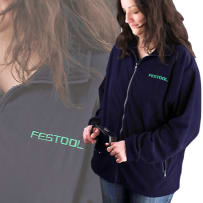 FESTOOL M0092 FLEECE JACKET - X-LARGE