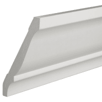 PARKSITE AZM45 AZEK 11/16-in x 5-1/4-in x 16-ft  (6-in) Crown Moulding - White