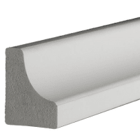 PARKSITE AZM93 AZEK 3/4-in x 3/4-in x 16-ft Scotia Moulding 16-ft - White