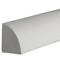 PARKSITE AZM105 AZEK 3/4-in x 3/4-in x 16-ft Quarter Round Moulding 16-ft - White