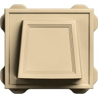 """Builders Edge 42491 4"""" Hooded Siding Vent (Canyon)"""