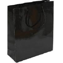 AMSCAN 47098.10 JUMBO BLACK GLOSSY GIFT BAG
